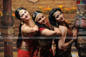 Actress Anushka in Rudramadevi Movie Stills