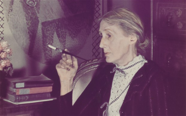 """""""I was in a queer mood, thinking myself very old: but now I am a woman again - as I always am when I write"""" - Virginia Woolf Image Credits: The Telegraph"""