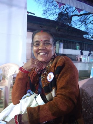 60-year-old Jamuna Devi is the Sarpanch of Gram Bamana in Madhya Pradesh. She rebelled against her family and managed to study till the 11th std. She wanted to do engineering but wasn't allowed to – and so, out of vengeance, she made her lazy husband do engineering. Today, Jamuna Devi is fighting for the labourers who were displaced due to the Bhakra Dam project.